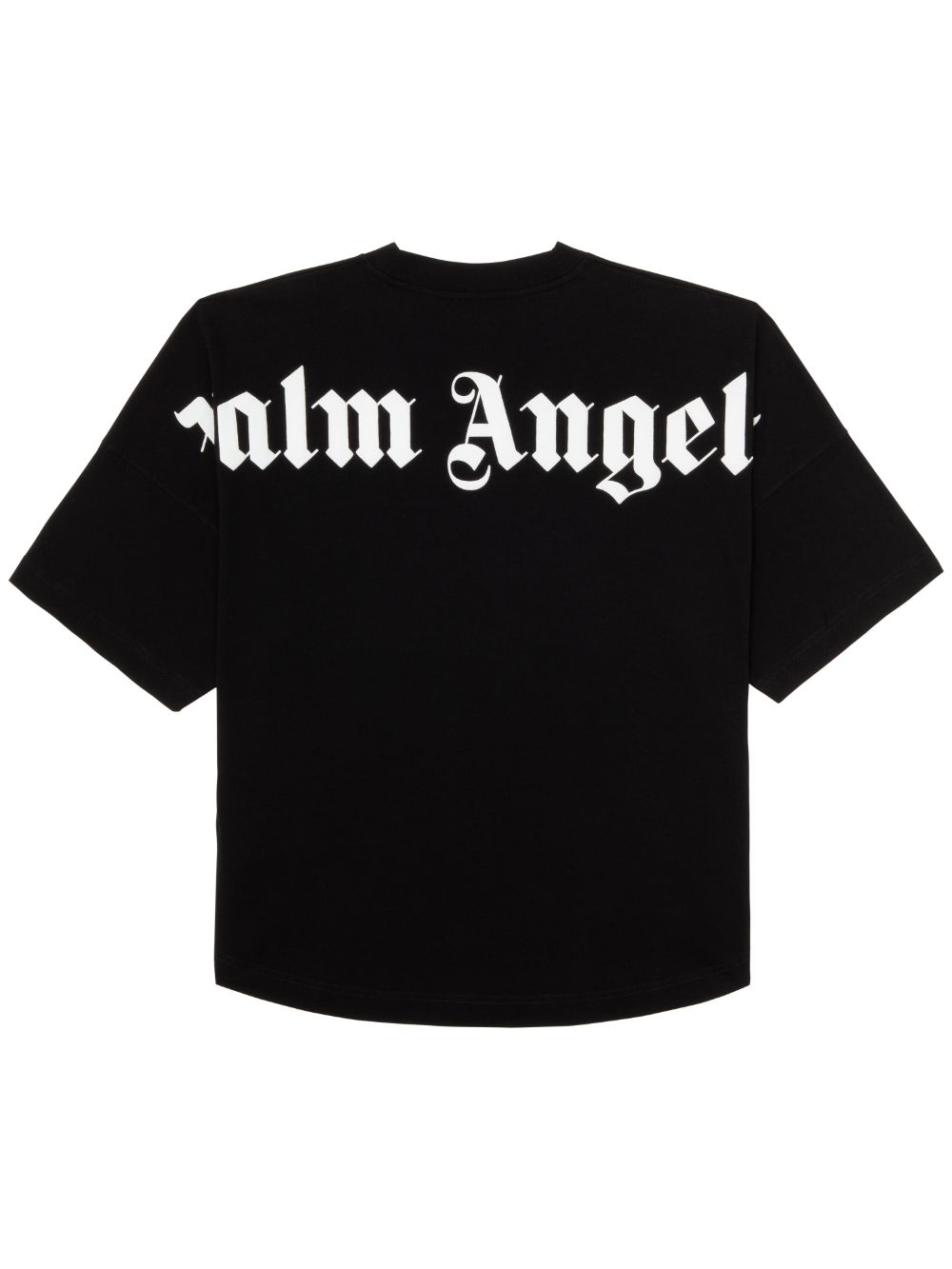 Immagine di Palm Angels | CLASSIC LOGO OVER TEE BLACK WHITE